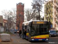 Przystanek zastępczy przy ul. Warszawskiej (w stronę Radziwia)