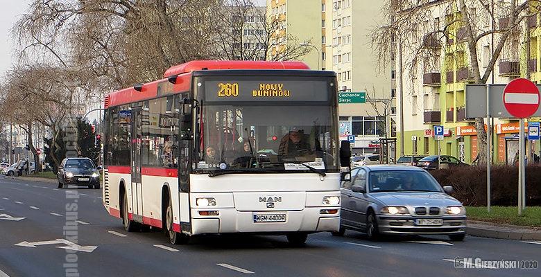 Photo of Linia 260 do Nowego Duninowa [AKTUALIZACJA]