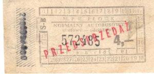 4 zł - normalny (ze zbiorów Marcina Kozłowskiego)