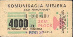4000 zł (ze zbiorów Marcina Kozłowskiego)