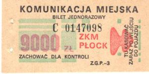 9000 zł (ze zbiorów Marcina Kozłowskiego)