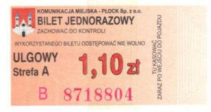 1,10 zł - ulgowy (ze zbiorów Marcina Kozłowskiego)