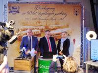 Konferencja prasowa z okazji jubileuszu spółki. Foto: KM-Płock