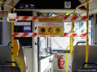 Strefa wydzielona w autobusie