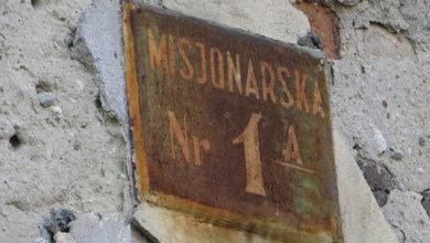 Adres Misjonarska 1a, dawna Bieruta
