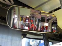 Elektryczne dwustrefowe lustro kierowcy