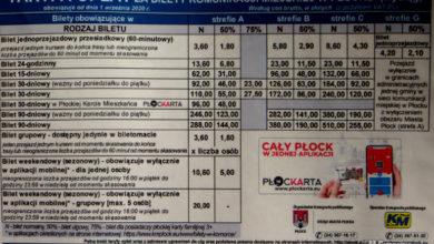 Photo of Podwyżka cen biletów