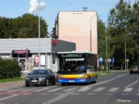 Nowa linia 18 na ul. Rembielińskiego przy skrzyżowaniu z ul. Tysiąclecia