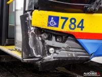 Uszkodzenia Solarisa #784 w wyniku kolizji