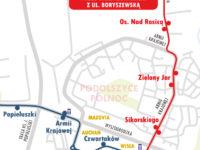 Nowa trasa linii 18 (źródło: kmplock.eu)