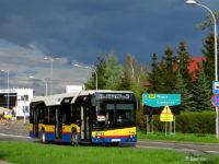 Solaris Urbino IV 12 Hybrid #782 na ul. Otolińskiej podczas objazdu
