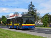 MAN #651 na skróconym wariancie linii 7 do Kutnowskiej