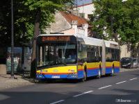 Przegubowy Solaris #749 na linii nr 2