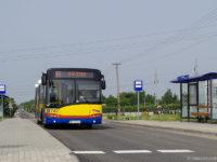 Autobus linii 15 na wyremontowanej ul. Boryszewskiej