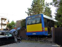 Wypadek z udziałem MAN-a #658
