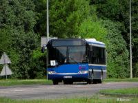 Autobus obsługujący komunikację na terenie kombinatu (linia nr 1)